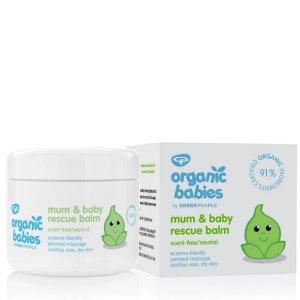 Balsam hidratant pentru mămici & bebeluși Green People Rescue Balm 100 ml