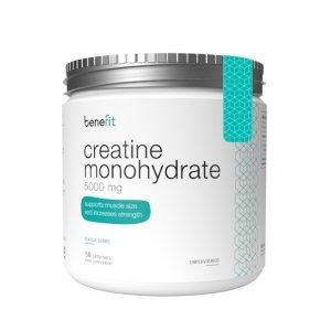 Benefit Creatine Monohydrate 5000 mg Unflavoured 250 g   Creatina monohidrata