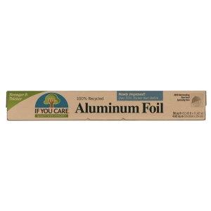 Folie de aluminiu 100% reciclat If You Care   10 m x 29 cm