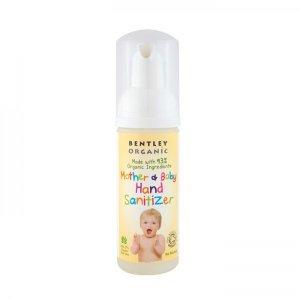 Igienizant de mâini pentru mămici & copii Bentley Organic 50 ml