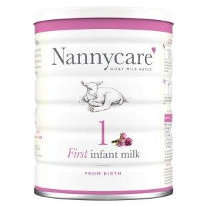 Lapte praf de capră NANNYcare nr. 1 - de la 0 luni 400 g