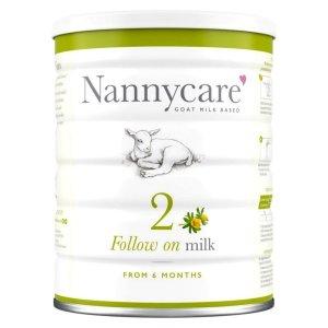 Lapte praf de capră NANNYcare nr. 2 -  de la 6 luni 900 g
