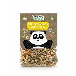 Paste bio pentru bebeluși Little Pasta Organics - Little Stars 250 g