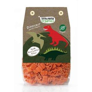 Paste bio pentru copii Little Pasta Organics - Dinosaur 250 g