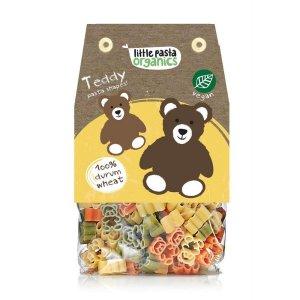 Paste bio pentru copii Little Pasta Organics - Teddy 250 g