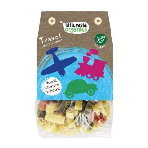 Paste bio pentru copii Little Pasta Organics - Travel 250 g