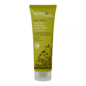 Purifying   Exfoliant facial organic cu extract de neem Urban Veda 125 ml   Ten gras