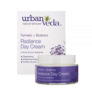 Radiance   Cremă de zi nutritivă organică cu extract de curcumă Urban Veda 50 ml   Ten uscat