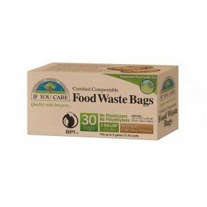 Saci compostabili pentru deșeuri alimentare If You Care | 30 buc