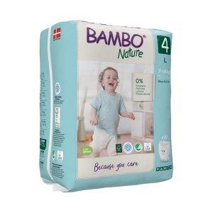 Scutece antrenament Bambo Nature nr. 4 - L - 7-14 kg | 20 buc